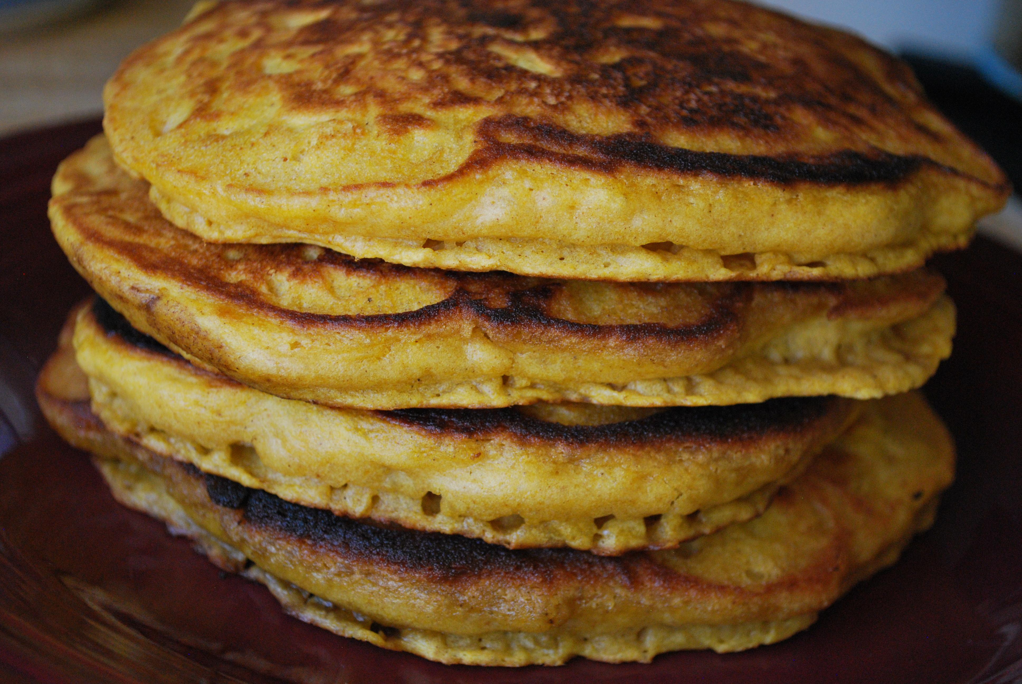 Inspired Recipe: Pumpkin Apple Pancakes