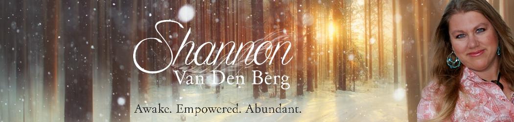Shannon Van Den Berg header image