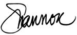 Shannon Signature (150x69)